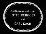 """""""Däumelinchen"""" by Lotte Reiniger"""