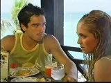 Cancun - mia y miguel comendo