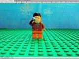 SpongeBob Lego The Pink Purloiner Clip:News report
