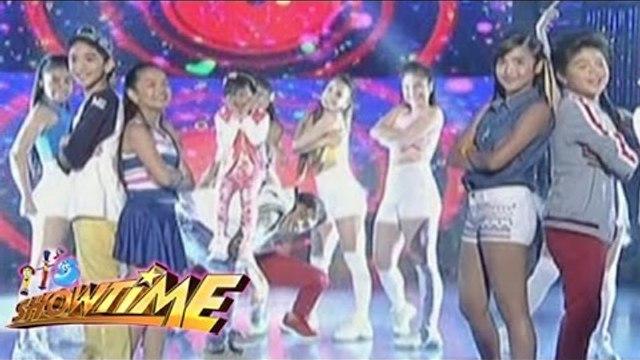 Kapamilya child stars show off their dance moves on It's Showtime dance floor