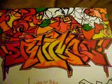 lets go back to some oldschool 1999 graffiti sketches RICO ONE back in the day graffiti art drawing
