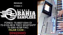 TYROS 5   VIDEO 4   CHICLETE COM BANANA REGGAE SAMBA SAMBA DE RODA TRADIÇÃO