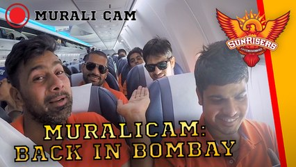 Muralitharan Cam: A front row seat to Mumbai with SRH