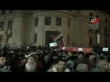 مسيرة «بالنعوش» إلى دار القضاء العالي