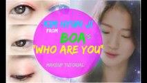 "Kim Hyun Ji ""BoA - Who Are You"" Makeup Tutorial"