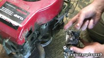 How To: Repair Snow Blower Carb - Engine Only Runs with