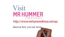 Love Hummers? Experience The Hummer Limo Hire in Melbourne!