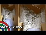 Mommy D's outfit on Pacquiao-Mayweather fight