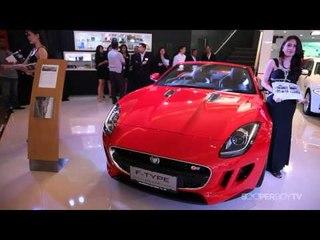 Kerennya Jaguar F-Type dan Range Rover di IIMS 2013