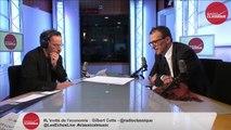 Gilbert Cette, invité de l'économie de Nicolas Pierron (06.05.15)