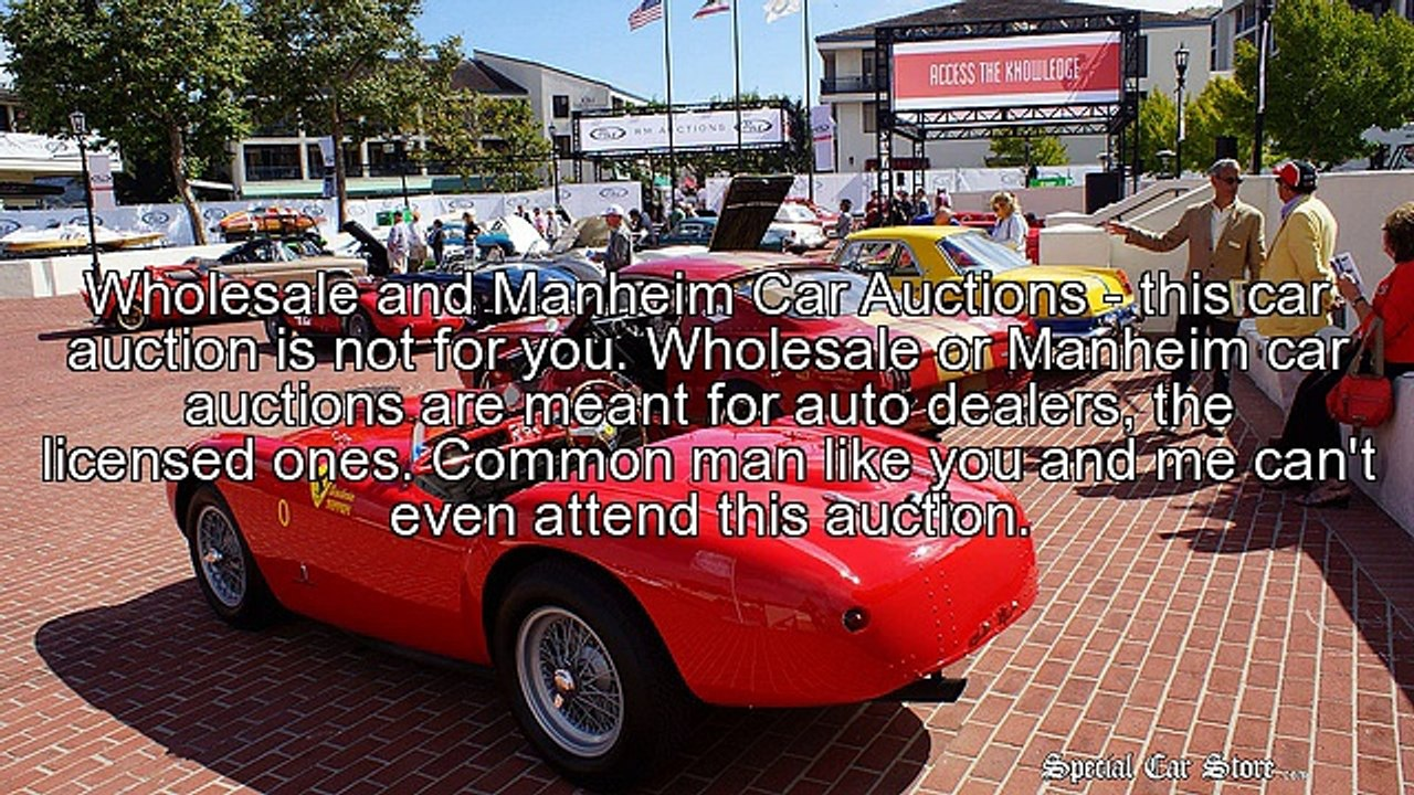 Vehicle Auctions Near Me >> Look To Car Auctions For A Great Deal