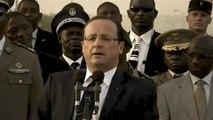 François Hollande : «  je viens de vivre le moment le plus important de ma vie »