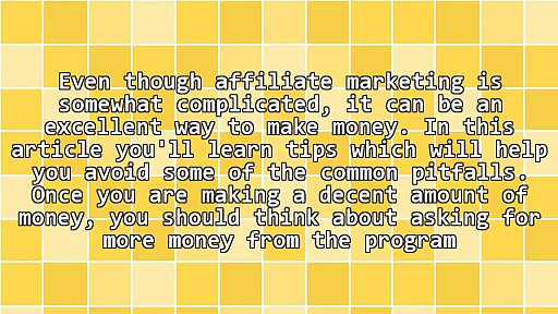 Generating More Sales With Affiliate Marketing