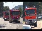 [A] - EINSATZ- / ALARMFAHRT ||| [Löschzug Feuerwehr Stuttgart vs. Löschzug Feuerwehr Reutlingen]