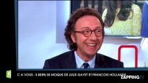 """Stéphane Bern tacle François Hollande et Julie Gayet : """"C'est un célibataire avec une Arlésienne"""""""