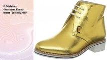 C. Petula Lola, Chaussures à lacets femme - Or (Gold