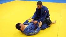 Jiu jitsu brésilien- sweep de la garde et prise de dos