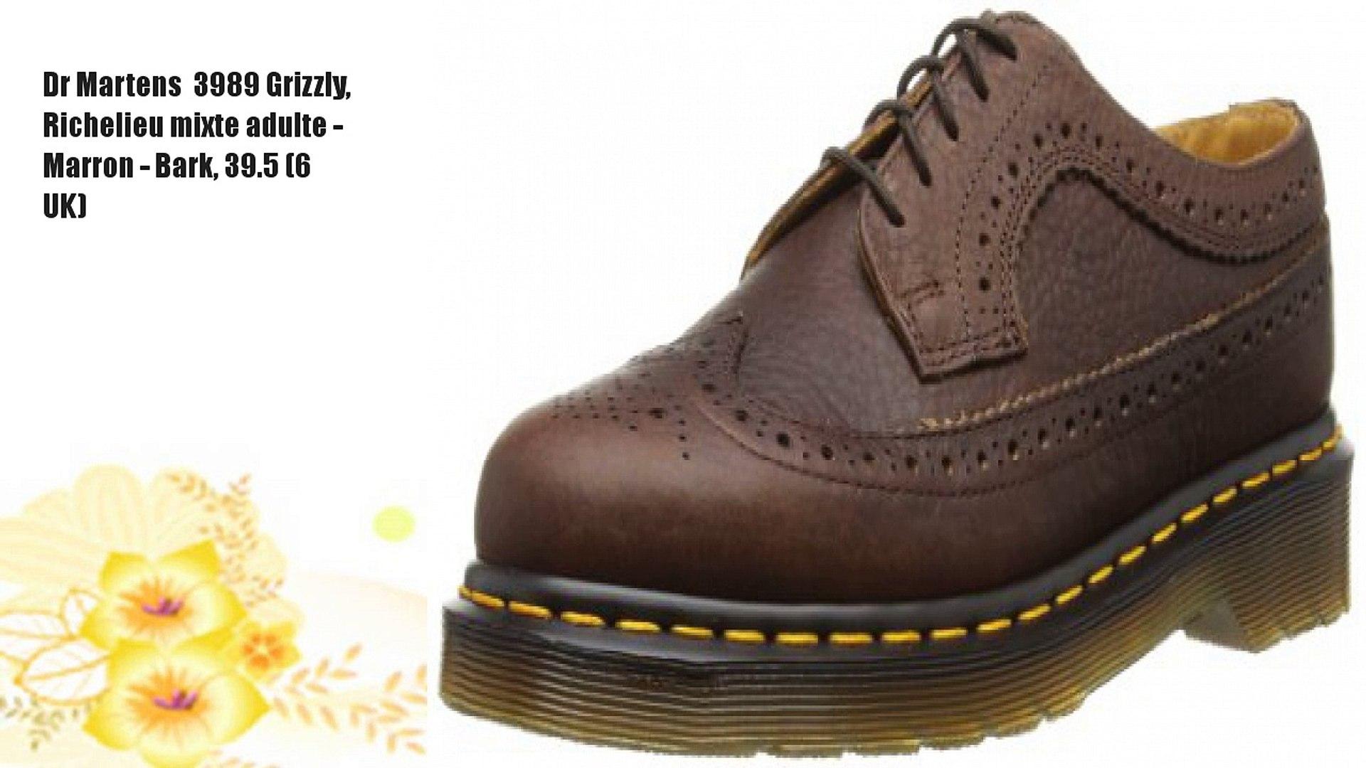 Dr Martens 1461 Pw Harvey, Chaussures de ville mixte