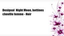 Desigual  Night Moon, bottines cheville femme - Noir