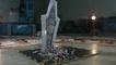 Destruction d'un Super Destroyer Stellaire en LEGO au ralenti