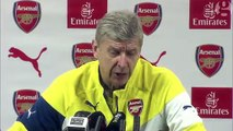 Arsène Wenger feels Arsenal are on 'positive trend' despite Champions League exit – video