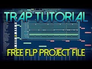 Trap Beat TUTORIAL + FLP DOWNLOAD - FL Studio Tutorial Free FLP Project File Download
