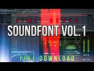 Limit Beats Soundfont Vol 1 - [FREE DL] (Preview/Demonstration)