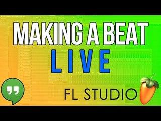 Making a beat - Livestream - Testing (LIMIT BEATS)