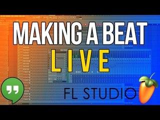 Making a beat LIVE #3 - LIMIT BEATS & DIMURO