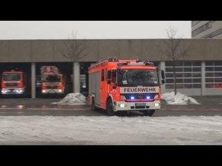 Löschzug + ELW OVA 5-1 + RTW BF Köln FW 5
