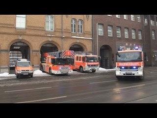Löschzug + B-Dienst + 2x RTW BF Düsseldorf FW 1