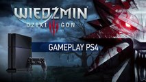 The Witcher 3 - Gameplay sur PS4