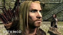 ★ Skyrim Mods Series - #10 - Better Men Faces And Better Hair