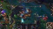 SKT T1 Faker Azir vs Ziggs LOL replay Highlights