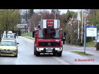 Eintreffende Einsatzkräfte Hauptübung FF Herrenberg Teil 2/2