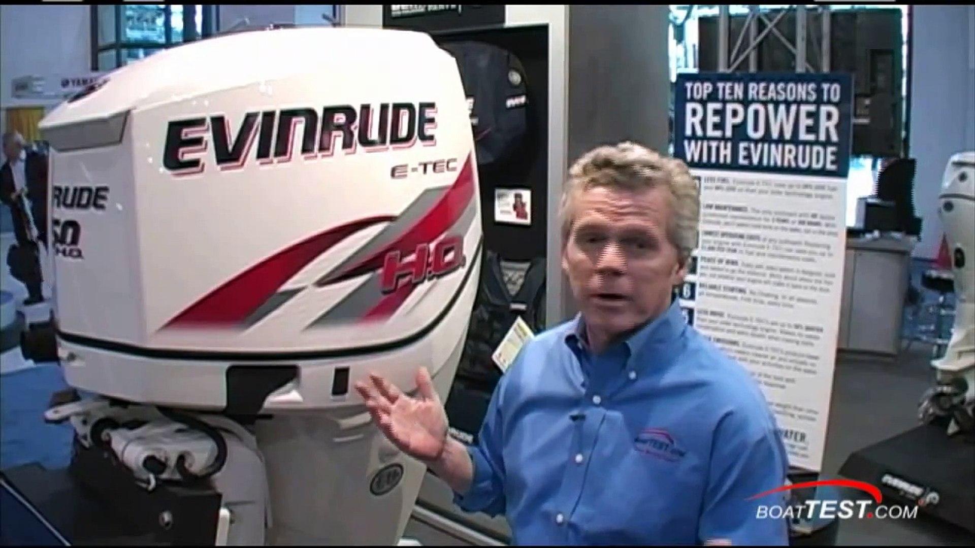 EVINRUDE 150 HO E-TEC Engine Reviews (2 stroke) - By BoatTEST COM