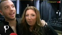"Helena Paparizou &  Anton Hysen - ""Let's Dance"" Backstage Interview (1rst Live)"