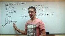 PRODUCTO MIXTO de vectores SECUNDARIA (4ºESO) volumen paralelepipedo matematicas