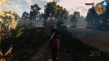 The Witcher 3 : first gameplay ps4  de The Witcher 3 : Wild Hunt
