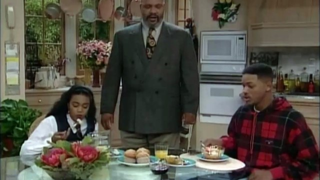 Cutting the tension - Fresh Prince of Bel-Air
