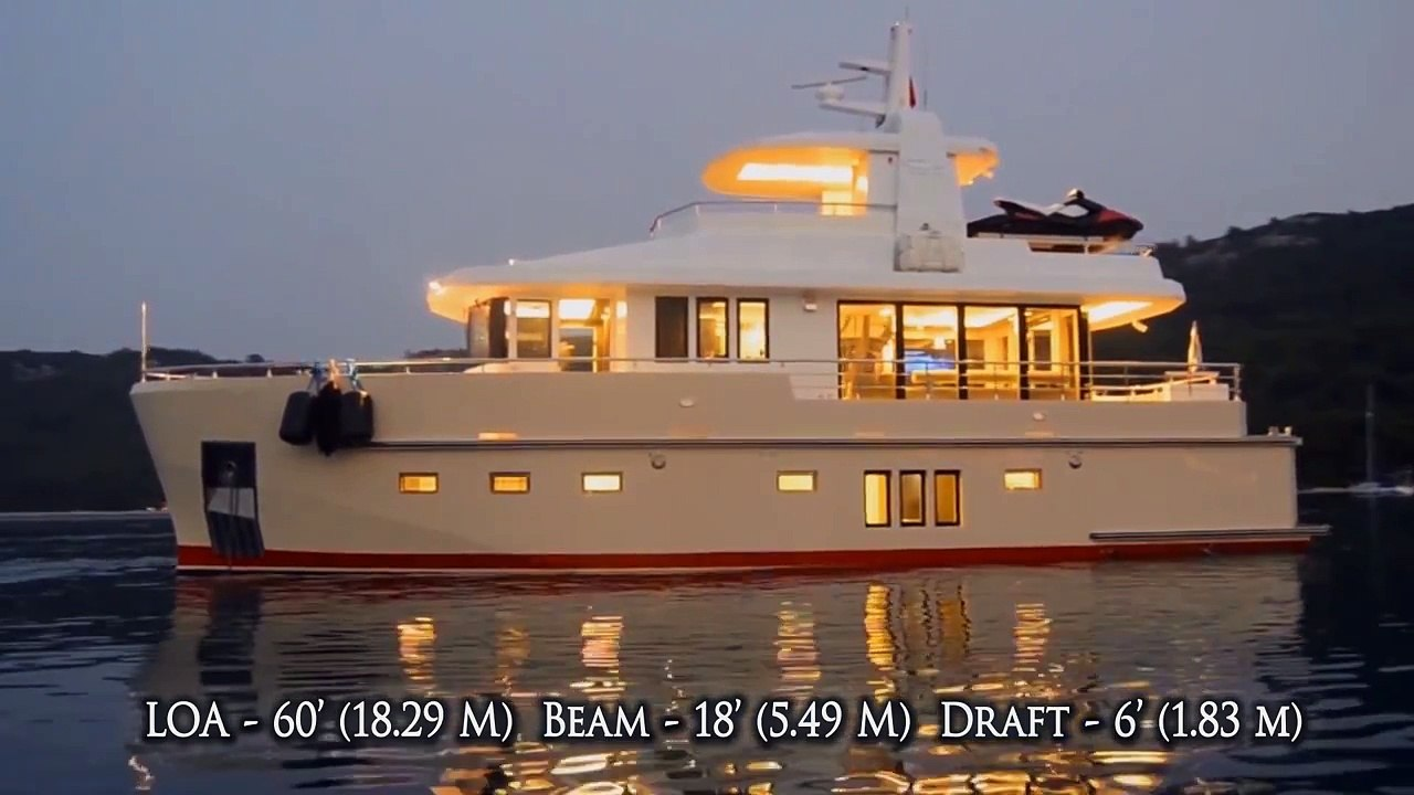 Bering 60 - Steel Luxury Explorer Trawler Yacht
