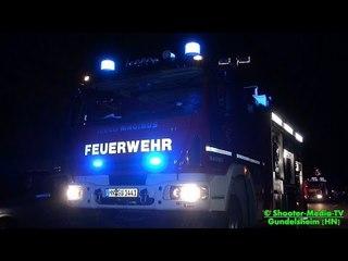 [NOTFALL BEI ZUG IM TUNNEL] Großeinsatz für Einsatz-/Rettungskräfte + Tunnelrettung, Großlüfter  [Ü]