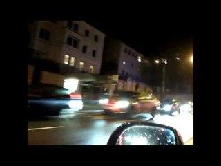 AB Mulde (Sindelfingen) + RTW BF Stuttgart + NEF BF Stuttgart mit LED Blaulicht ©