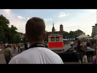 RTW und NEF im Einsatz auf dem Schloßplatz ©