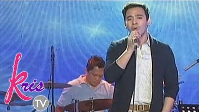 Erik Santos sings 'Tayong Dalawa' on Kris TV