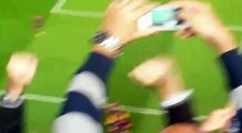 Barcelona: el tercer gol visto desde la tribuna del Camp Nou