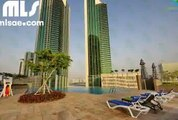 High Floor  Balcony  Sea View 1 Bedroom Apartment offered for sale in Burooj Views. - mlsae.com