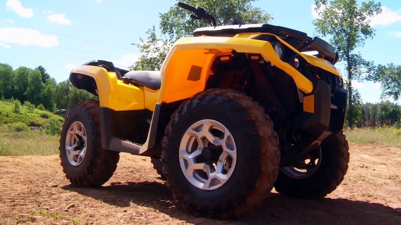 2013 Can-Am Outlander 500 ATV Test Ride