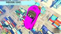 GTA 5 Funny Moments - CRAZY FUN RAMPS! GTA 5 Online - (GTA 5 Funny Moments) GTA 5 Gameplay