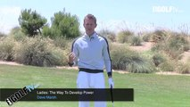 Golf Tips tv: Ladies Golf: How to create more power
